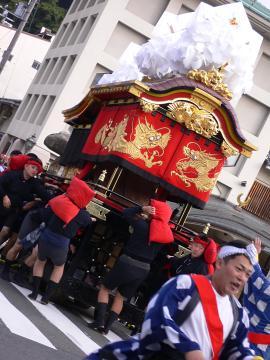 城崎だんじり祭り(1)