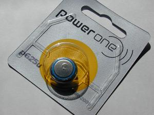 p625u電池のパッケージ