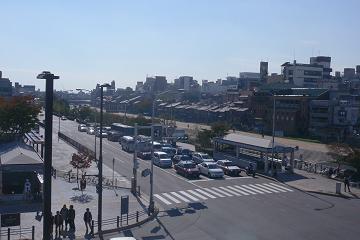 三条京阪俯瞰