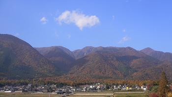 比良山系の紅葉