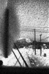 釧網本線にて