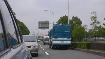山口県警のバス画像
