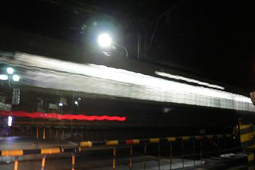 始発電車の画像