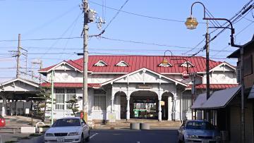 浜寺公園駅正面の画像