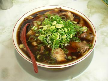 新福菜館のラーメン(並)の写真