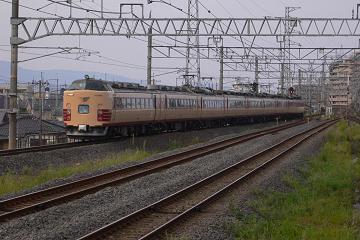 485系電車A10編成の写真