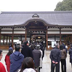 新年の藤森神社の写真
