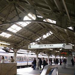旅客上屋の明り取り@京都駅の写真