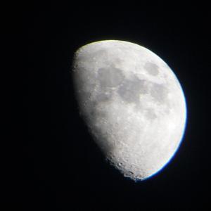 """今宵のお月様の写真"""""""