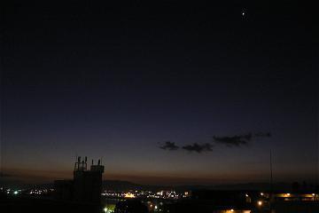 """明けの明星の写真"""""""