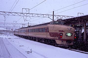 489系@敦賀駅の写真
