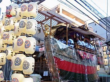 船鉾@祇園祭の写真