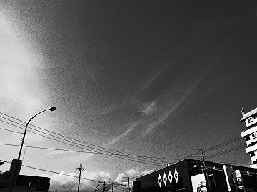 続・ハイコントラスト白黒の写真