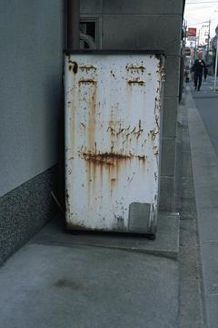 街角の食パンマンの写真