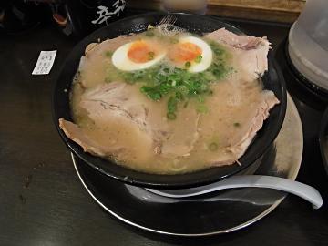 博多一幸舎@京都拉麺小路:味玉チャーシューメンの写真
