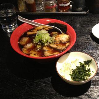 富山ブラック@京都拉麺小路の写真