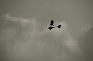 軽飛行機の写真