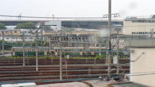 竹田車庫に京都市電が集結の写真