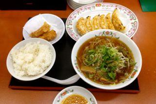 餃子の王将膳所駅前店さんのラーメン定食の写真