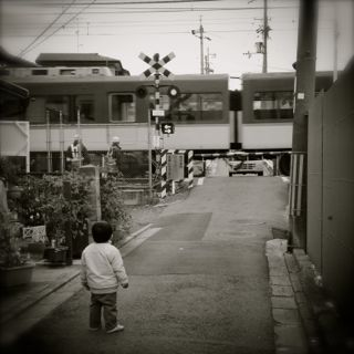鉄道ファンの写真
