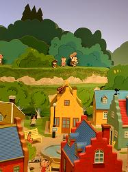 アンパンマンが住む町