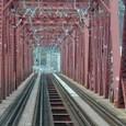 京阪電車木津川橋梁